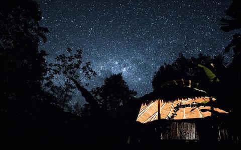 Ayahuasca Center- Maloka Under aStarry Night